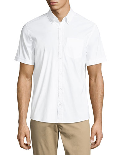 Present Short-Sleeve Oxford Shirt