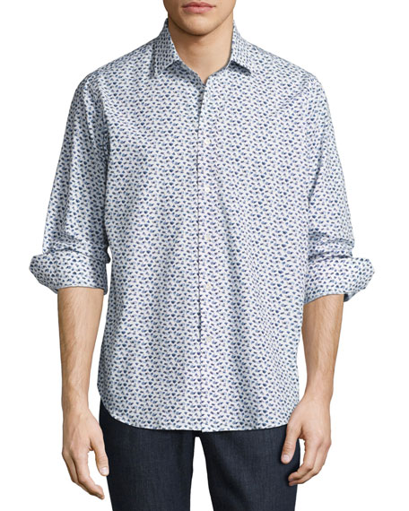 R by Robert Graham Snapshot Camera Sport Shirt,