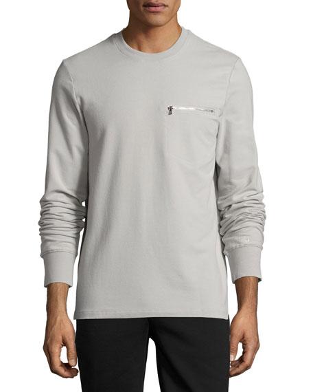 2Xist Modern Classic Sweatshirt, Cement Gray