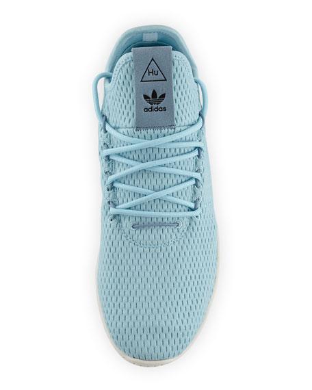 x Pharrell Williams Men's Hu Race Tennis Sneakers, Blue