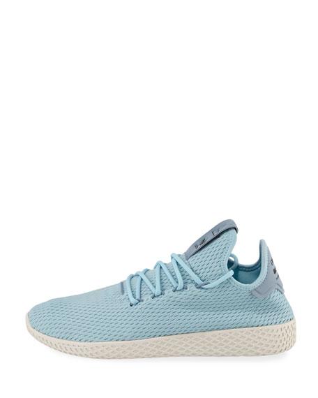 x Pharrell Williams Men's Hu Race Tennis Sneaker, Blue