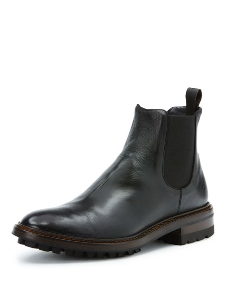 Men's Greyson Leather Chelsea Boots