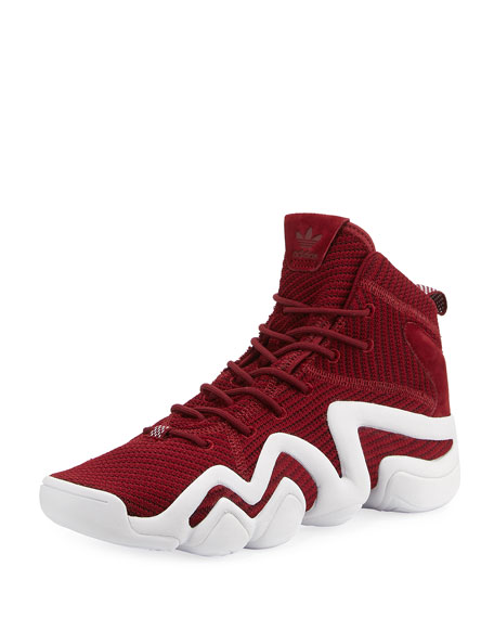 Adidas Men's Crazy 8 Primeknit?? ADV Sneaker, Red