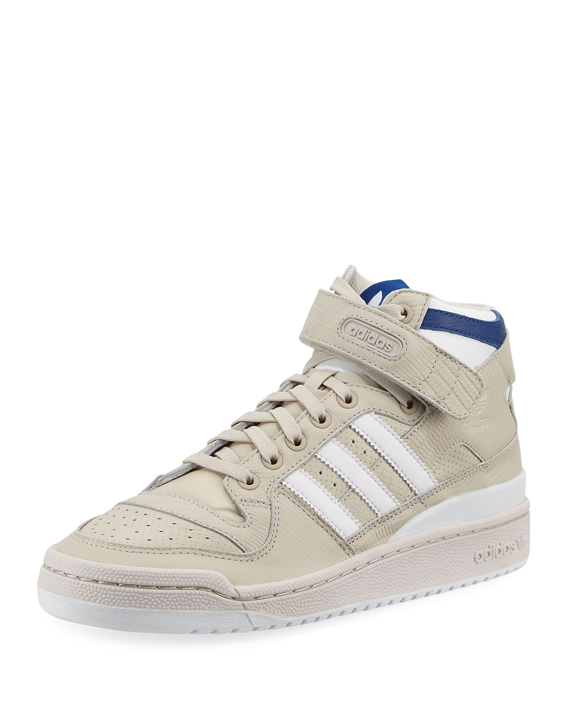 Adidas Men s Forum Leather Mid-Top Sneaker edf71705b