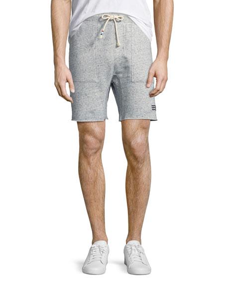 Neppy Cutoff Sweat Shorts, Blue