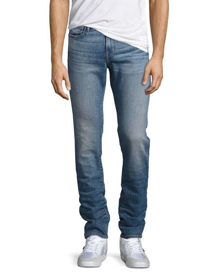 FRAME L'Homme Straight-Leg Jeans, Blue