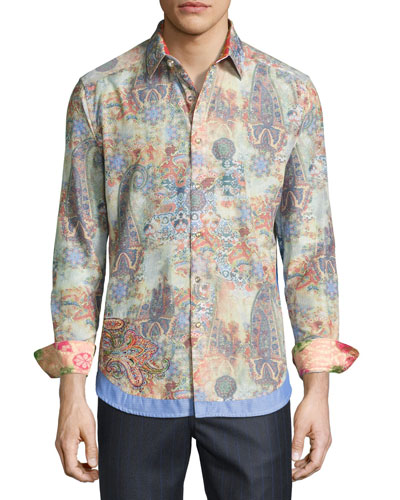 Limited Edition Bollywood Sport Shirt, Multicolor