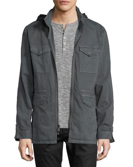 John Varvatos Star USA Hooded Utility Jacket