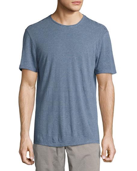 John Varvatos Star USA Striped Crewneck T-Shirt, Medium