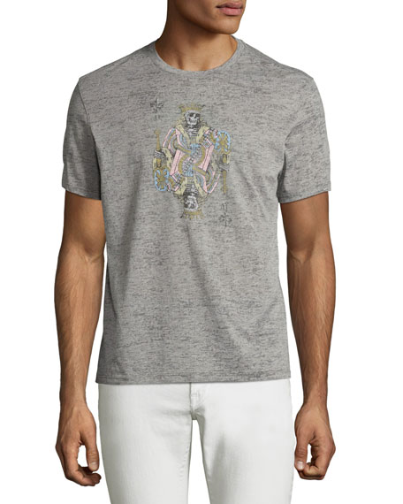 John Varvatos Star USA JV Skeleton King Graphic