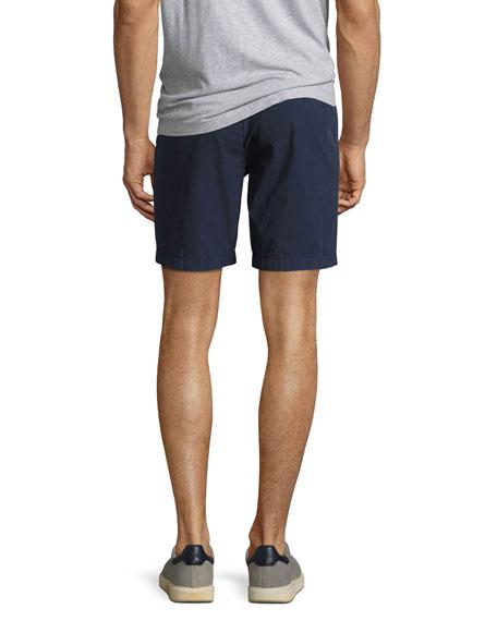 Tailored Cotton Chino Shorts, Indigo