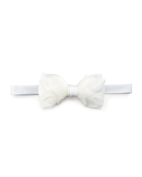 Brackish Bowties Carew Goose Feather Formal Bow Tie,