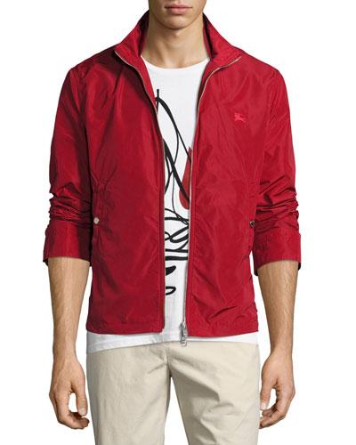 Brighton Lightweight Technical Jacket, Red