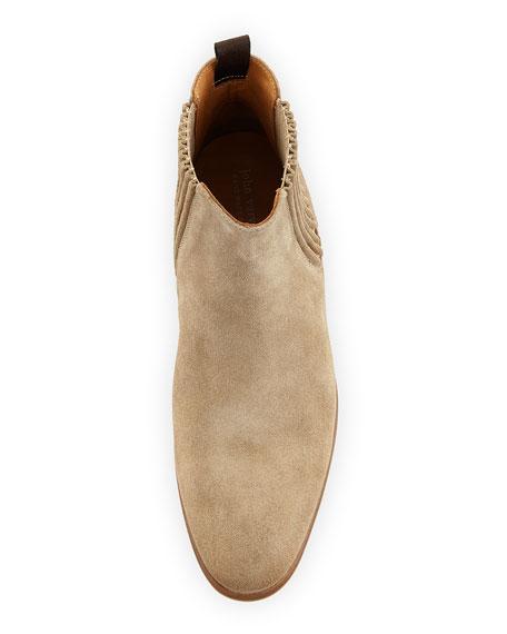 Eldridge Suede Chelsea Boot, Brown