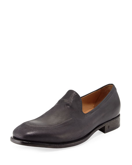 John Varvatos Fleetwood Ghosted Loafer, Mineral Black