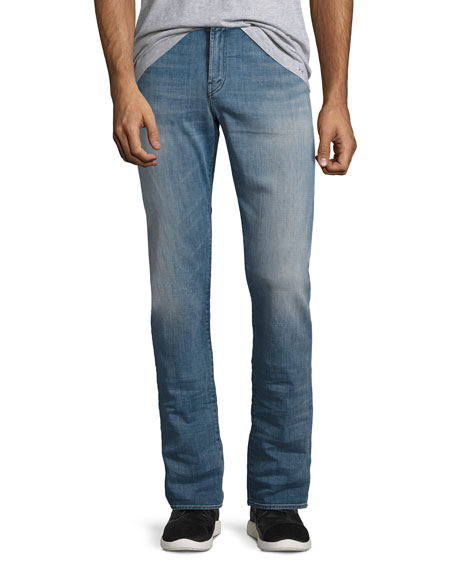 J Brand Kane Straight-Fit Jeans, Hubble (Blue)