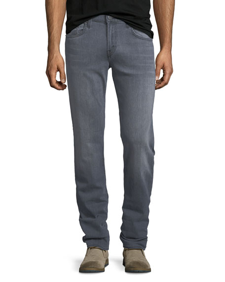 J Brand Kane Straight-Leg Jeans, Bickel