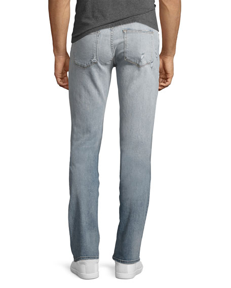 Tyler Distressed Slim-Fit Jeans, Hawking