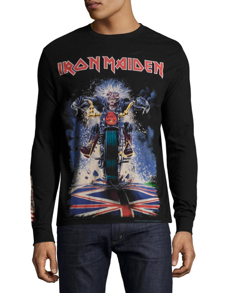 Iron Maiden Long-Sleeve T-Shirt, Black