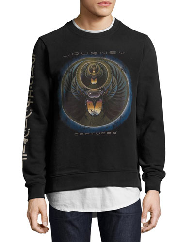 Journey Captured Sweatshirt, Black