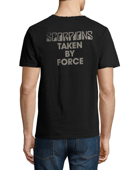 Scorpions Graphic T-Shirt, Vintage Black