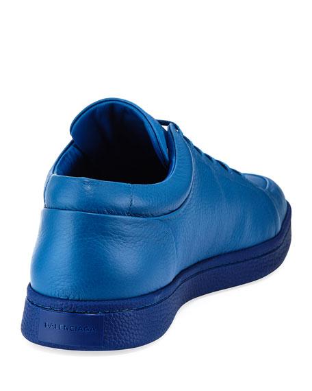 balenciaga pebbled leather low top sneaker blue modesens. Black Bedroom Furniture Sets. Home Design Ideas