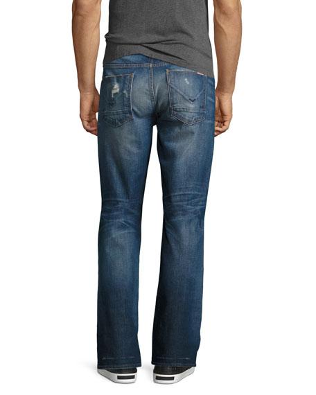 Men's Byron Classic Straight-Leg Jeans, Blue