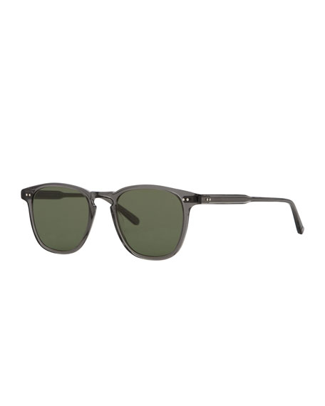 Brooks 47 Square Sunglasses, Gray Crystal