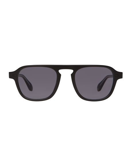 Men's Grayson Acetate Sunglasses, Black