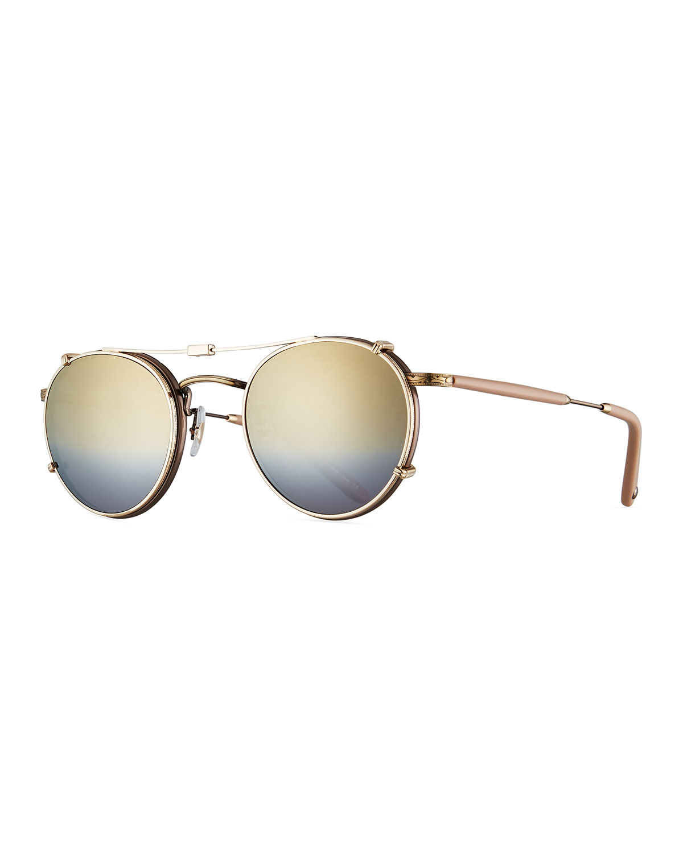 46f0fead86 Garrett Leight Wilson Round Sunglasses