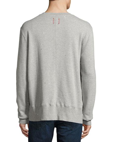 Vintage Painted Sweatshirt, Gray