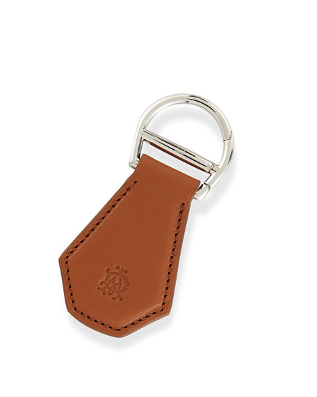 AD Facet Keychain, Tan