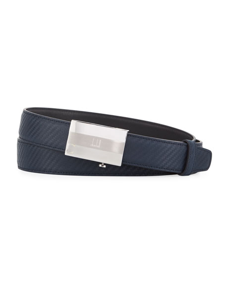 Facet Automatic Buckle Chassis Leather Belt