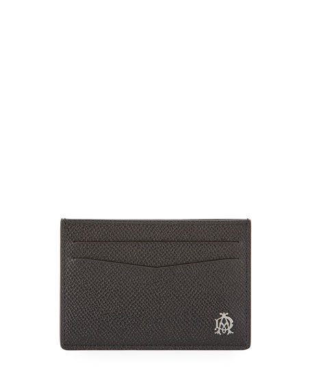 Cadogan Simple Card Case, Black