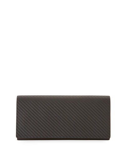 Chassis Coat Wallet, Black