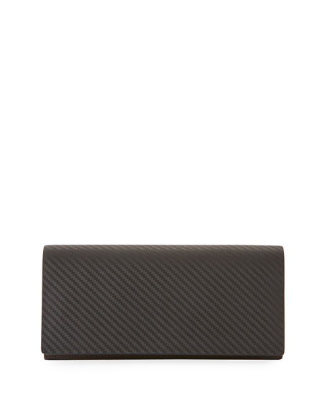 dunhill Chassis Coat Wallet, Black