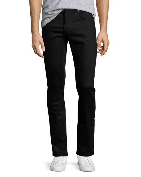 Nudie Tilted Tor Skinny Jeans, Dry Cold Black