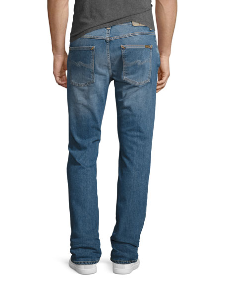 Lean Dean Stretch-Denim Skinny Jeans, Indigo