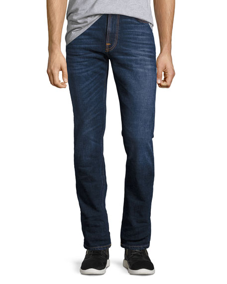 Nudie Lean Dean Comfort Stretch Denim Skinny Jeans,