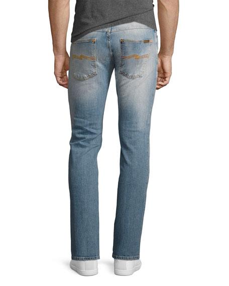 Grim Tim Slim-Straight Jeans, Light Blue