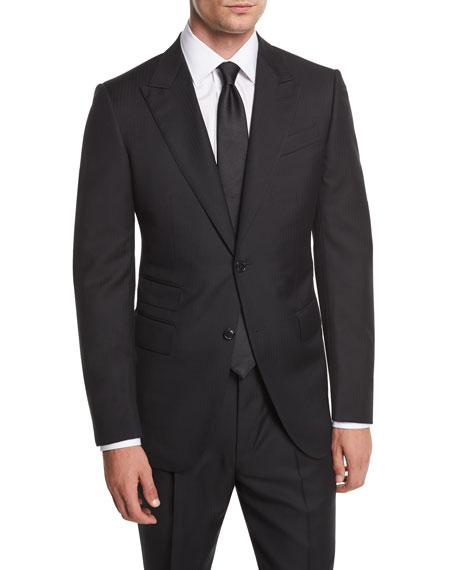 Ermenegildo Zegna Wool Herringbone Two-Piece Suit