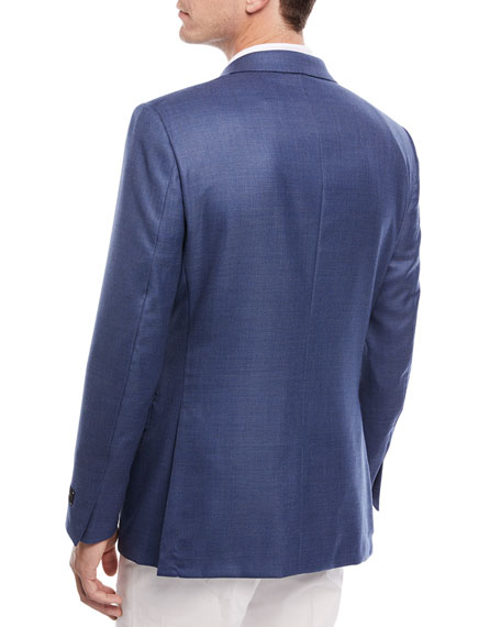 Two-Button Wool Blazer