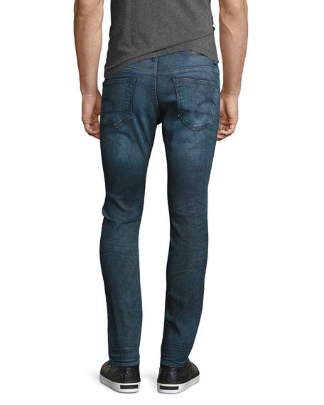 3301 Deconstructed Super-Slim Jeans, Loomer Blue