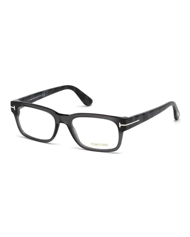 ce29115f2b8d TOM FORD Rectangular Acetate Eyeglasses