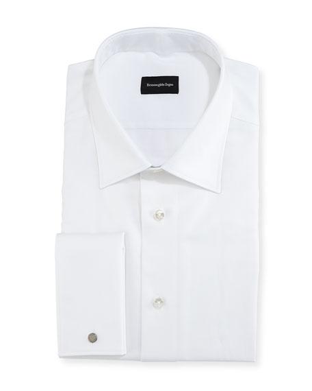 Chevron Cotton Dress Shirt