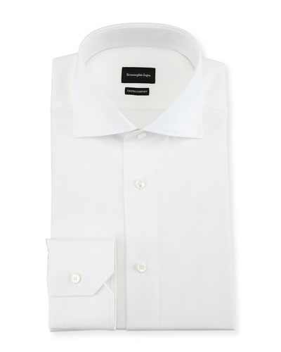 Trofeo® Comfort Cotton Dress Shirt, White