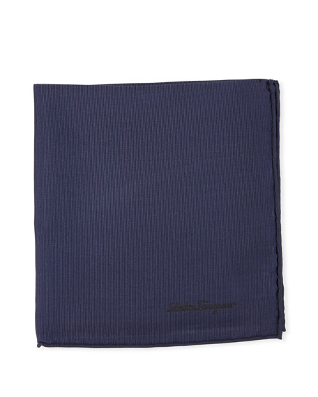 Solid Silk Twill Pocket Square