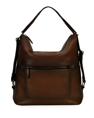 Runway 24 Hour Shoulder Bag, Brown