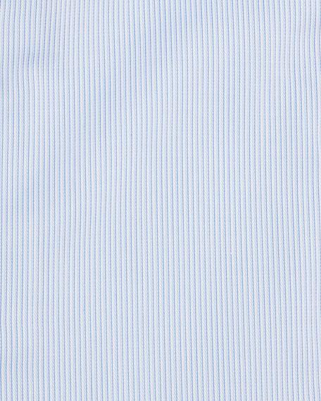 Micro-Stripe Dress Shirt