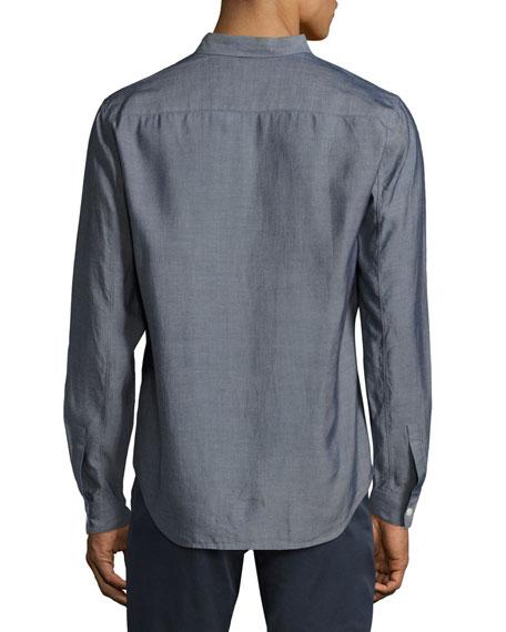 Rammy Pocket Sport Shirt, Indigo